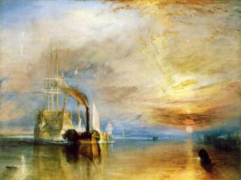 William Turner, The Fighting Temeraire, 1839