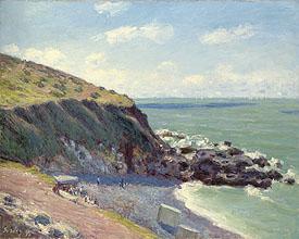 Alfred Sisley, Langland Bay, 1897
